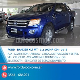 Ford Ranger XLT 3.2L 4x2 TDi CD usado (2015) color Azul