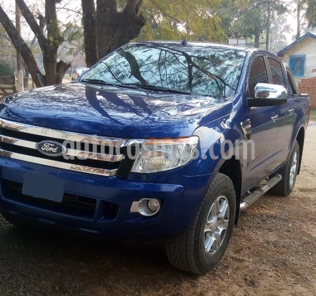 Ford Ranger XLT 3.2L 4x2 TDi CD  usado (2013) color Azul Monaco precio $1.880.000
