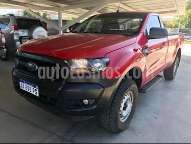 Ford Ranger XL 2.2L 4x2 TDi CS  usado (2017) color Rojo precio $1.170.000
