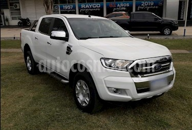 foto Ford Ranger XLT 3.2L 4x2 TDi CD usado (2018) color Blanco Oxford precio $2.000.000