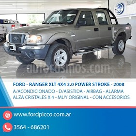 Ford Ranger XLT 3.0L 4x4 TDi CD usado (2008) color Beige