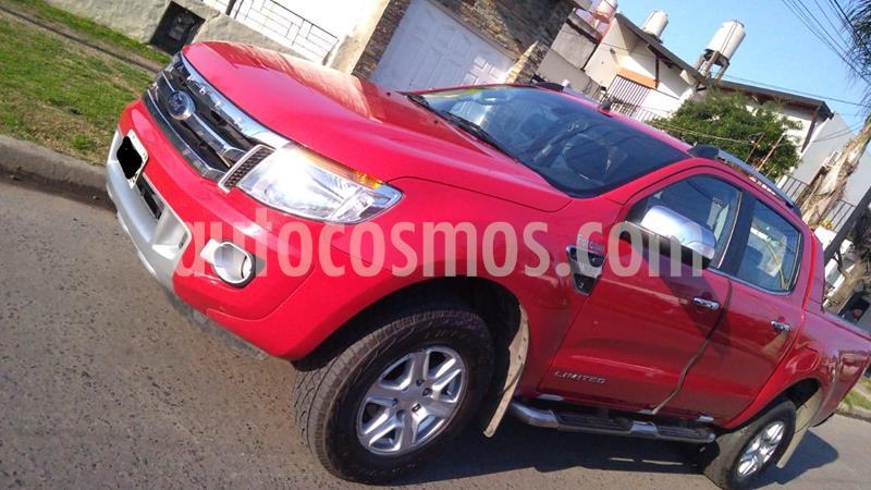 Ford Ranger Limited 3.2L 4x4 TDi CD  usado (2012) color Rojo Bari precio $1.700.000