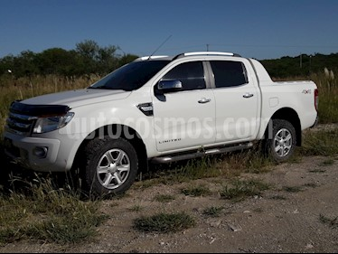 Ford Ranger Limited 3.2L 4x4 TDi CD 2015/2016 usado (2015) color Blanco precio $2.050.000