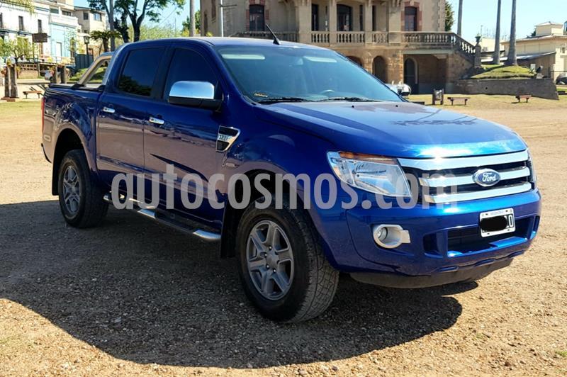 Ford Ranger XLT 3.2L 4x4 TDi CD usado (2014) color Azul precio $2.150.000