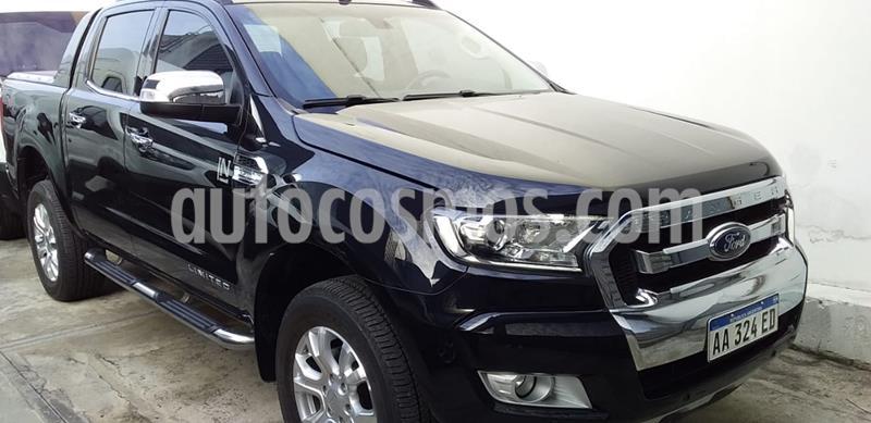 Ford Ranger Limited 3.2L 4x4 TDi CD Aut usado (2016) color Negro Perla precio $2.400.000