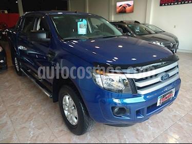 Ford Ranger XLS 3.2L 4x2 TDi CD 2015/2016 usado (2016) color Azul precio $1.350.000