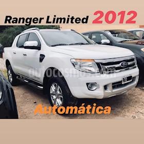 Ford Ranger XLT 3.2L 4x4 TDi CD Aut usado (2012) color Blanco precio $1.200.000
