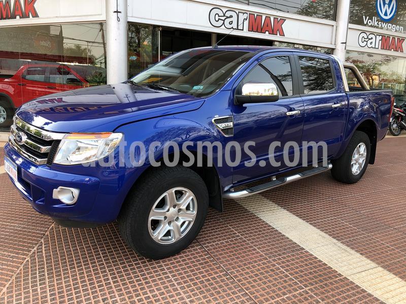 Ford Ranger XLT 3.2L 4x4 TDi CD Aut 2015/2016 usado (2015) color Azul precio $2.189.990