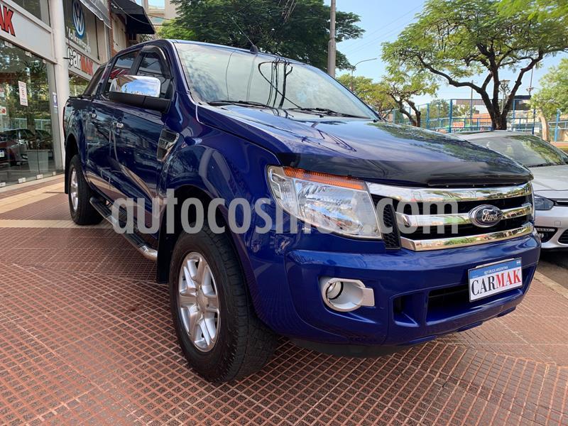 Ford Ranger XLT 3.2L 4x2 TDi CD 2015/2016 usado (2015) color Azul precio $1.830.000