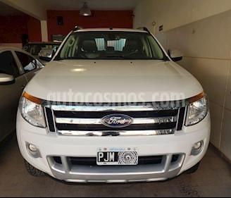Ford Ranger XLT 3.2L 4x4 TDi CD Aut usado (2015) color Blanco precio $1.900.000