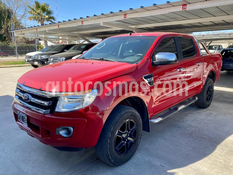 Ford Ranger XLT 3.2L 4x4 TDi CD 2015/2016 usado (2015) color Rojo precio $2.100.000