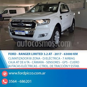Ford Ranger XLT 3.2L 4x4 TDi CD Aut 2015/2016 usado (2017) color Blanco