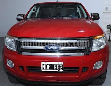 Ford Ranger XLT 3.2L 4x4 TDi CD 2015/2016 usado (2013) color Rojo precio $940.000