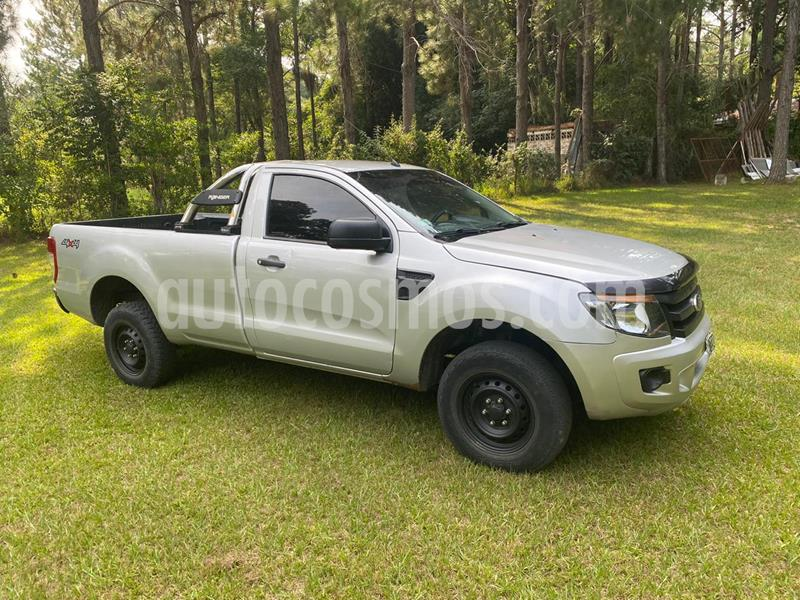 Ford Ranger XL 2.2L 4x4 TDi CS Safety usado (2013) color Gris precio $1.350.000