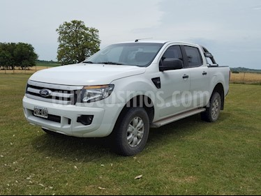 Ford Ranger XLS 3.2L 4x2 TDi CD Aut 2015/2016 usado (2015) color Blanco precio $1.100.000