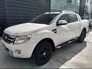 Ford Ranger Limited 3.0L 4x4 TDi CD usado (2014) color Blanco Oxford precio $1.580.000