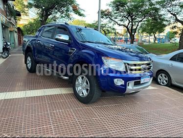 Ford Ranger Limited 3.2L 4x4 TDi CD Aut 2015/2016 usado (2014) color Azul precio $1.360.000