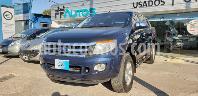 Ford Ranger XLT 3.2L 4x4 TDi CD 2015/2016 usado (2013) color Azul precio $1.849.000