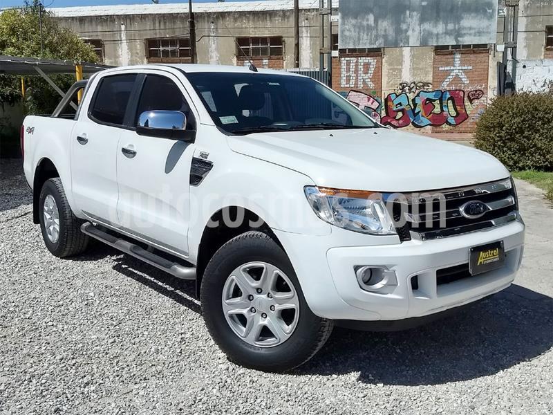 Ford Ranger XLT 3.2L 4x2 TDi CD usado (2014) color Blanco precio $1.450.000