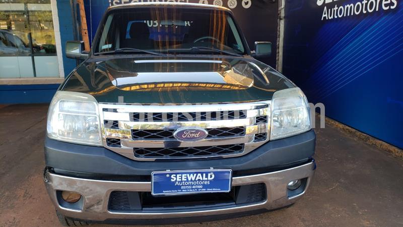 Ford Ranger 3.0 TDI C/D 4X2 XLT (163cv) (L09) usado (2010) color Verde precio $1.380.000