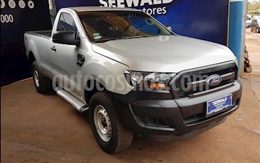 Ford Ranger 2.2 TDCi C/Simple 6MT 4x4 XL Safety (L12) usado (2016) color Gris Plata  precio $1.380.000