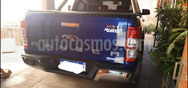 Ford Ranger XLT 3.2L 4x2 TDi CD usado (2017) color Azul Monaco precio $1.850.000
