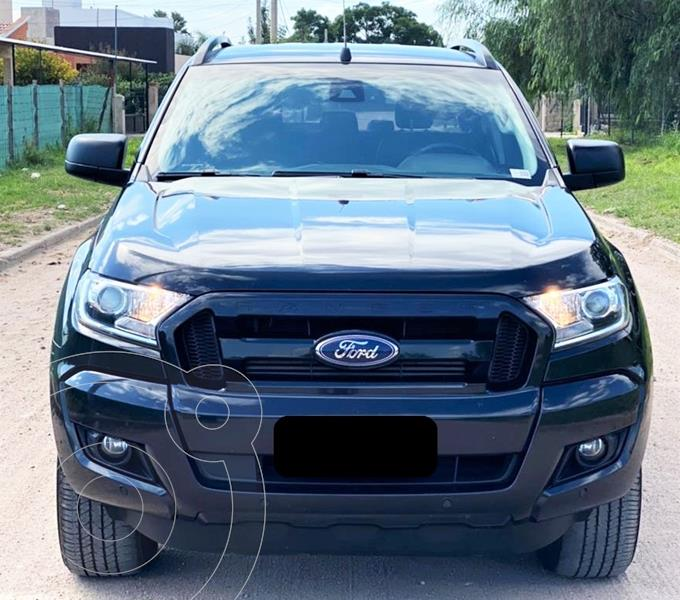 Foto Ford Ranger Black Edition 3.2L 4x4 TDi CD Aut usado (2018) color Negro precio $4.550.000