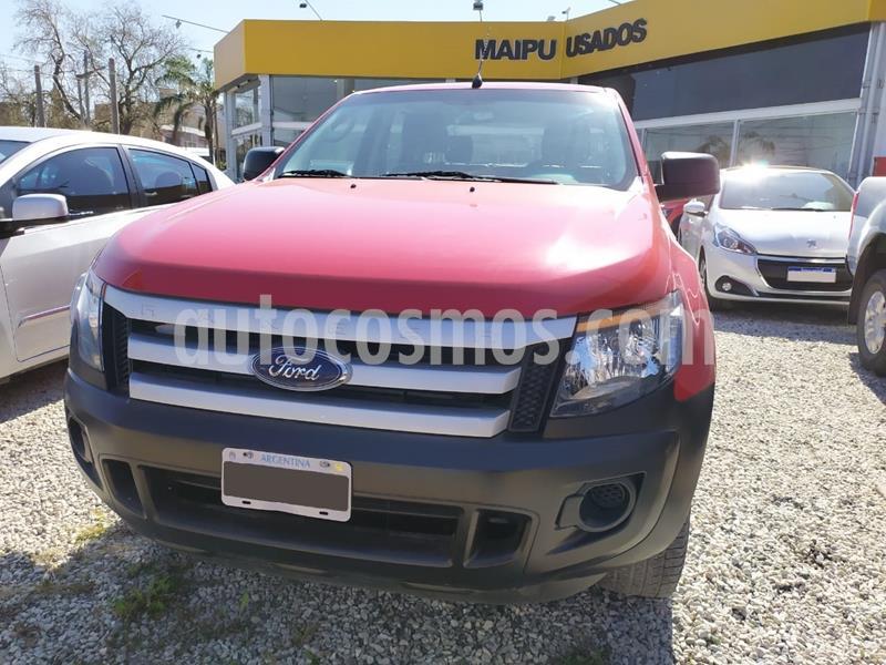 Ford Ranger XL 2.2L 4x4 TDi CS Safety usado (2013) color Rojo precio $1.335.000