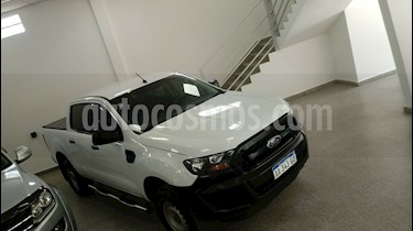 Ford Ranger XL 2.5L 4x2 CS   usado (2016) color Blanco precio $1.380.000