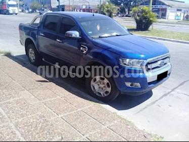 Ford Ranger XLT 3.2L 4x4 TDi CD 2015/2016 usado (2017) color Azul precio $1.610.000