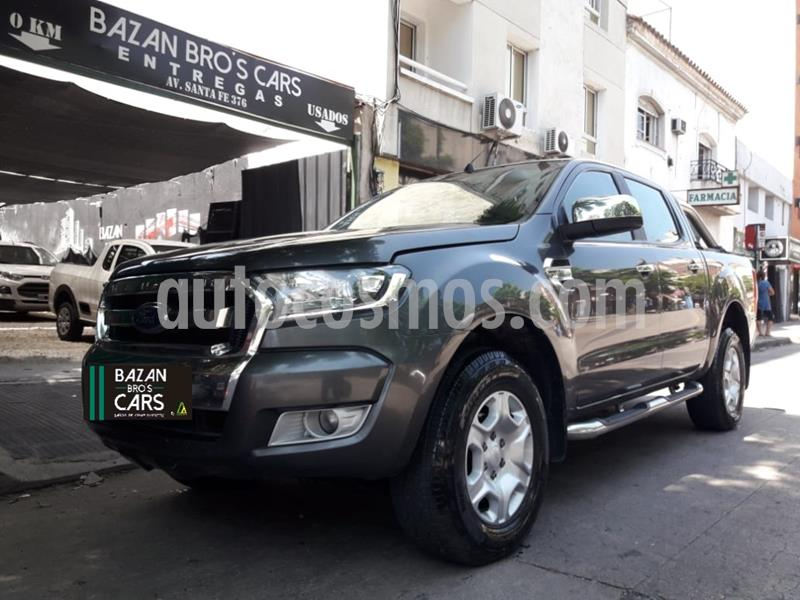 Ford Ranger XLT 3.2L 4x4 TDi CD 2015/2016 usado (2016) color Gris Oscuro precio $1.950.000