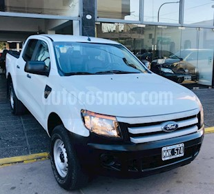 Ford Ranger XL 2.5L 4x2 CD Safety usado (2013) color Blanco precio $700.000