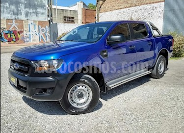 Ford Ranger XLS 3.2L 4x4 TDi CD  2015/2016 usado (2018) color Azul precio $1.100.000