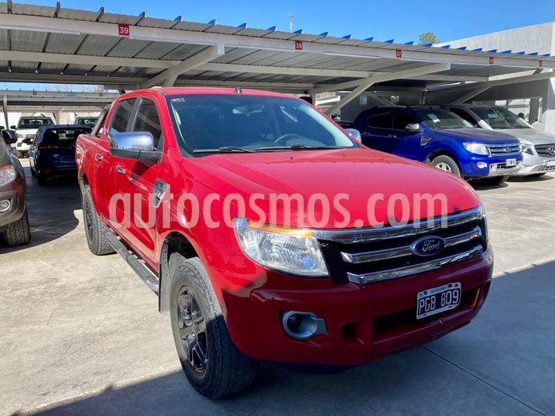 Ford Ranger XLT 3.2L 4x4 TDi CD 2015/2016 usado (2015) color Rojo precio $2.000.000