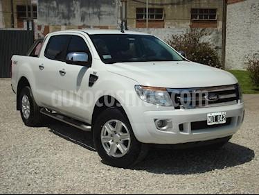Ford Ranger XLT 3.2L 4x2 TDi CD usado (2014) color Blanco precio $750.000