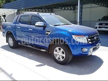 foto Ford Ranger XLT 3.2L 4x4 TDi CD Aut usado (2013) color Azul precio $1.190.000
