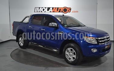 Ford Ranger XLT 3.2L 4x4 TDi CD usado (2013) color Azul Aurora precio $1.100.000