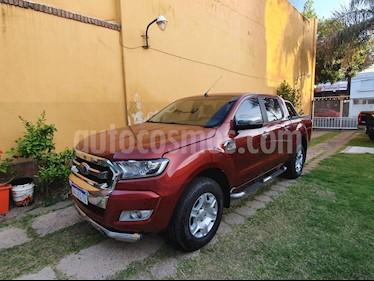 Ford Ranger XLT 3.2L 4x4 TDi CD Aut usado (2016) color Rojo Bari precio $2.000.000