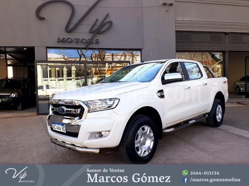 foto Ford Ranger XLT 3.2L 4x4 TDi CD 2015/2016 usado (2018) color Blanco precio $2.900.000