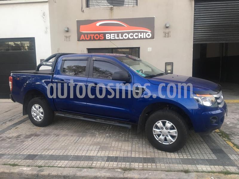 Ford Ranger Limited 3.2L 4x4 TDi CD 2015/2016 usado (2016) color Azul Aurora precio $2.200.000