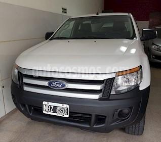 Ford Ranger XL 2.2L 4x2 TDi CS  usado (2013) color Blanco precio $820.000