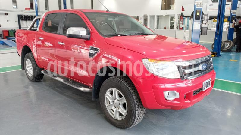 Ford Ranger XLT 3.2L 4x2 TDi CD usado (2016) color Rojo precio $2.400.000