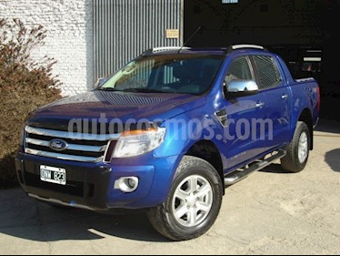 Ford Ranger Limited 3.2L 4x4 TDi CD  usado (2015) color Azul Aurora precio $1.200.000