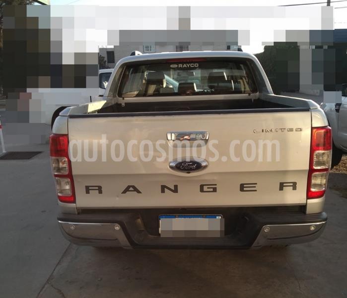 Ford Ranger Limited 3.2L 4x4 TDi CD usado (2016) color Plata Metalizado precio $2.500.000