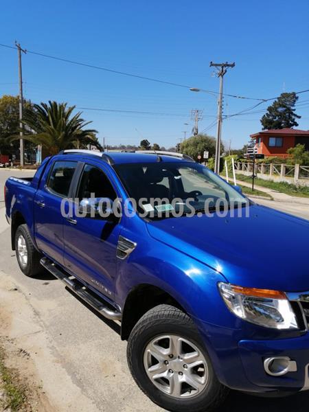 Ford Ranger Limited 2.5L 4x2 usado (2016) color Azul Aurora precio $12.000.000