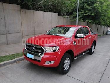Ford Ranger 3.2L XLT Diesel 4x4 usado (2017) color Rojo Bari precio $16.300.000