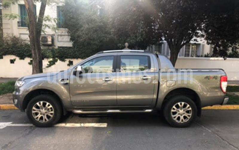 Ford Ranger 3.2L LTD Diesel 4x4 usado (2018) color Gris Mercurio precio $23.000.000