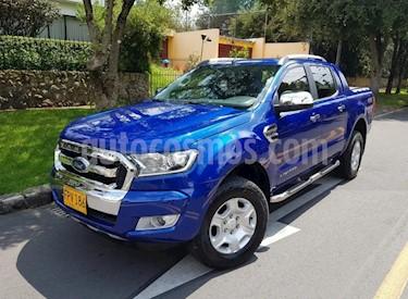 Ford Ranger 3.2L Limited  Diesel 4x4  Aut usado (2019) color Azul Relampago precio $124.900.000