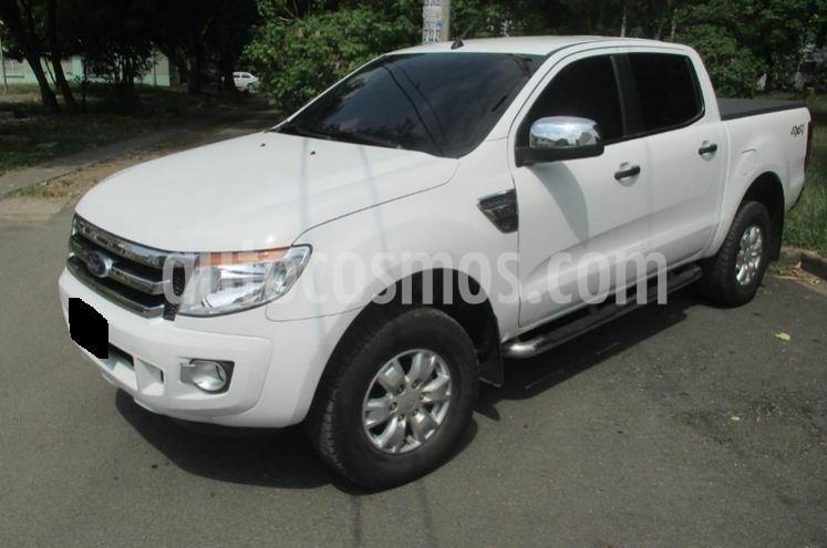 Ford Ranger Limited  usado (2013) color Blanco precio $38.000.000