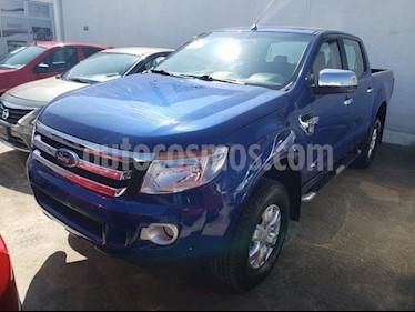 Foto venta Auto Seminuevo Ford Ranger Crew Cab XLT 4x2 MT (2015) color Azul precio $319,000